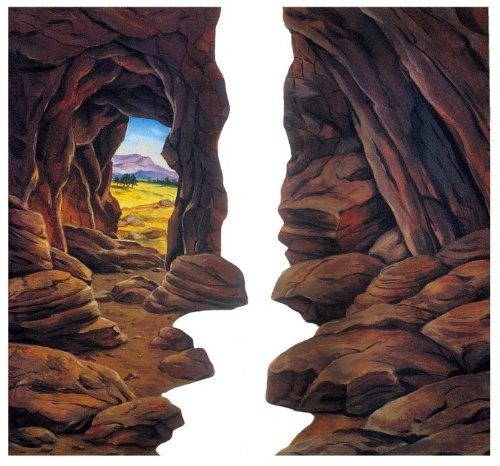 Szenenaufsatz: Höhle - KLEIN