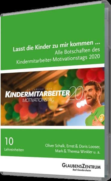 """Kindermitarbeiter-Motivationstag 2020: """"Lasst die Kinder zu mir kommen ..."""""""