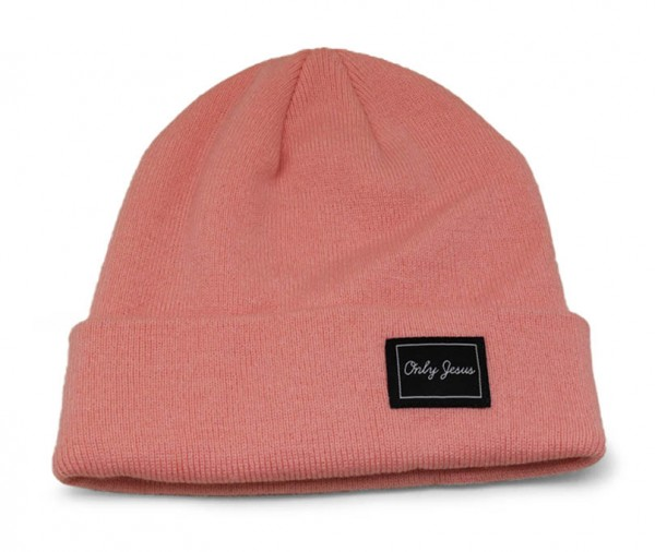 "Beanie ""Only Jesus"" Rosa/Pink"