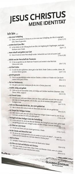Meine Identität in Christus - Lesezeichen