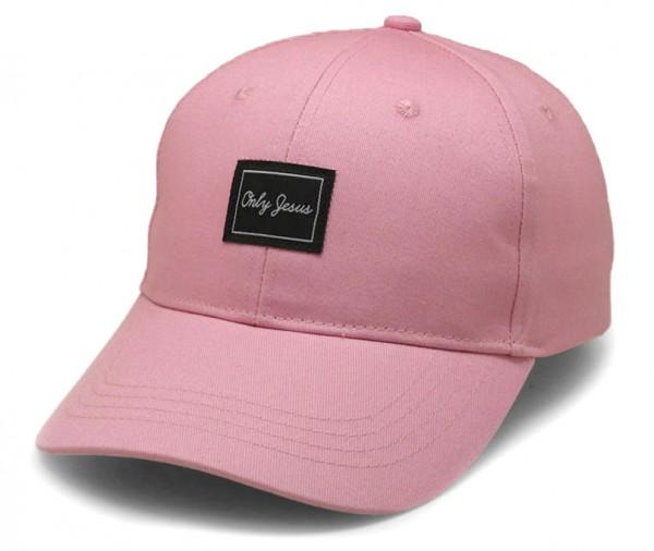 "Cap ""Only Jesus"" Pink"
