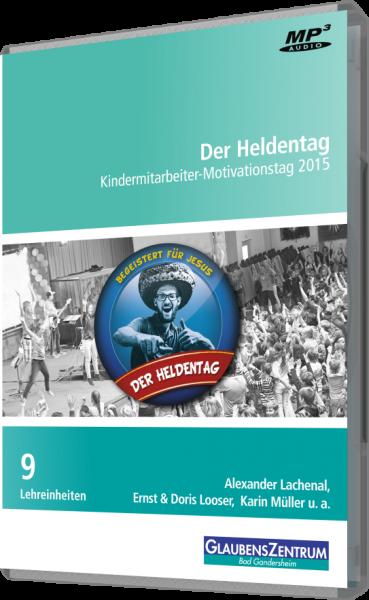 """Kindermitarbeiter-Motivationstag 2015: """"Begeistert von Jesus"""""""