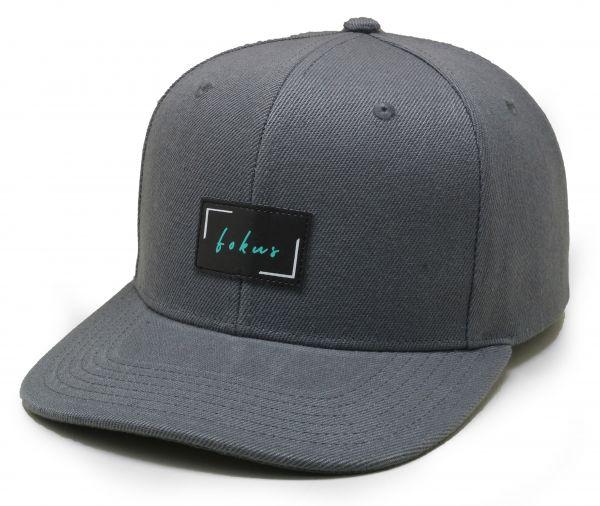 "Cap ""Fokus"" Grau"