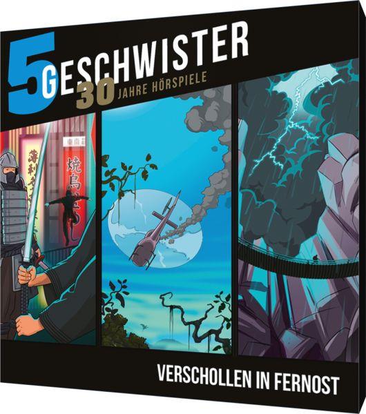 5 Geschwister-Jubiläumsbox - Verschollen in Fernost (3 CDs)