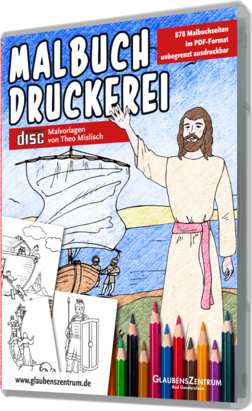 Malbuch-Druckerei