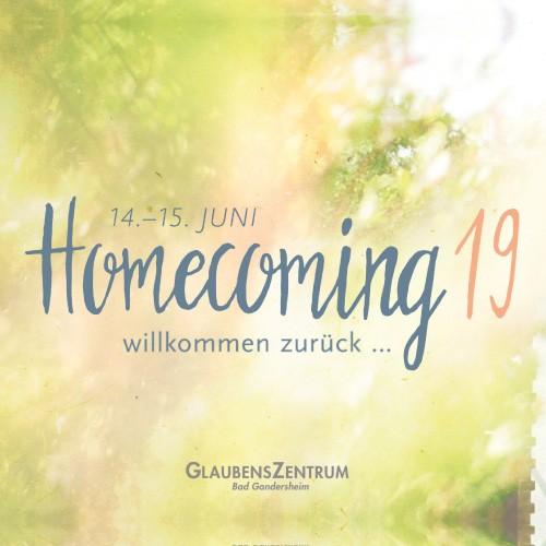 Homecoming - KATEGORIE B (Tagesticket + Essen)