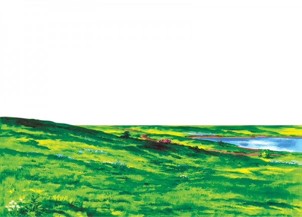 Szenenaufsatz: Landschaft - KLEIN