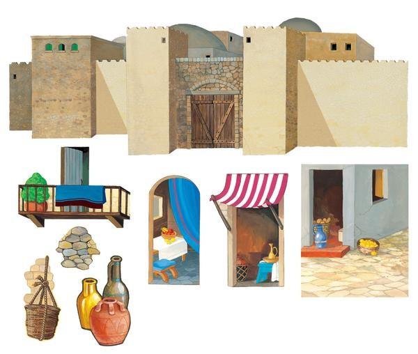 Szenenaufsatz: Stadtmauern - GROSS
