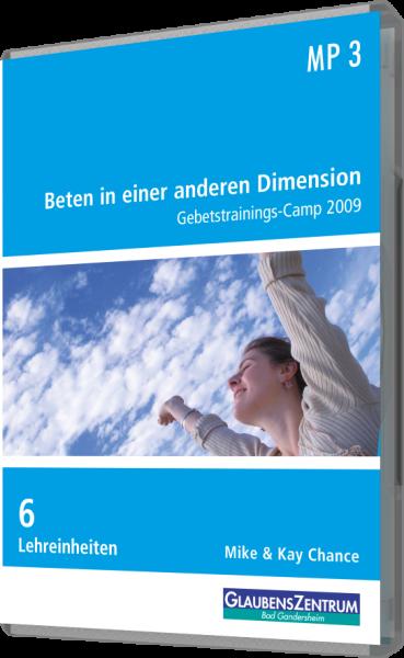 "MP3-Box Gebetstrainings-Camp 2009: ""Beten in einer anderen Dimension"""